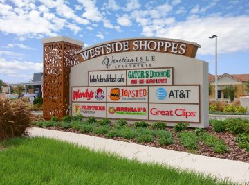 Westside Shoppes Sign