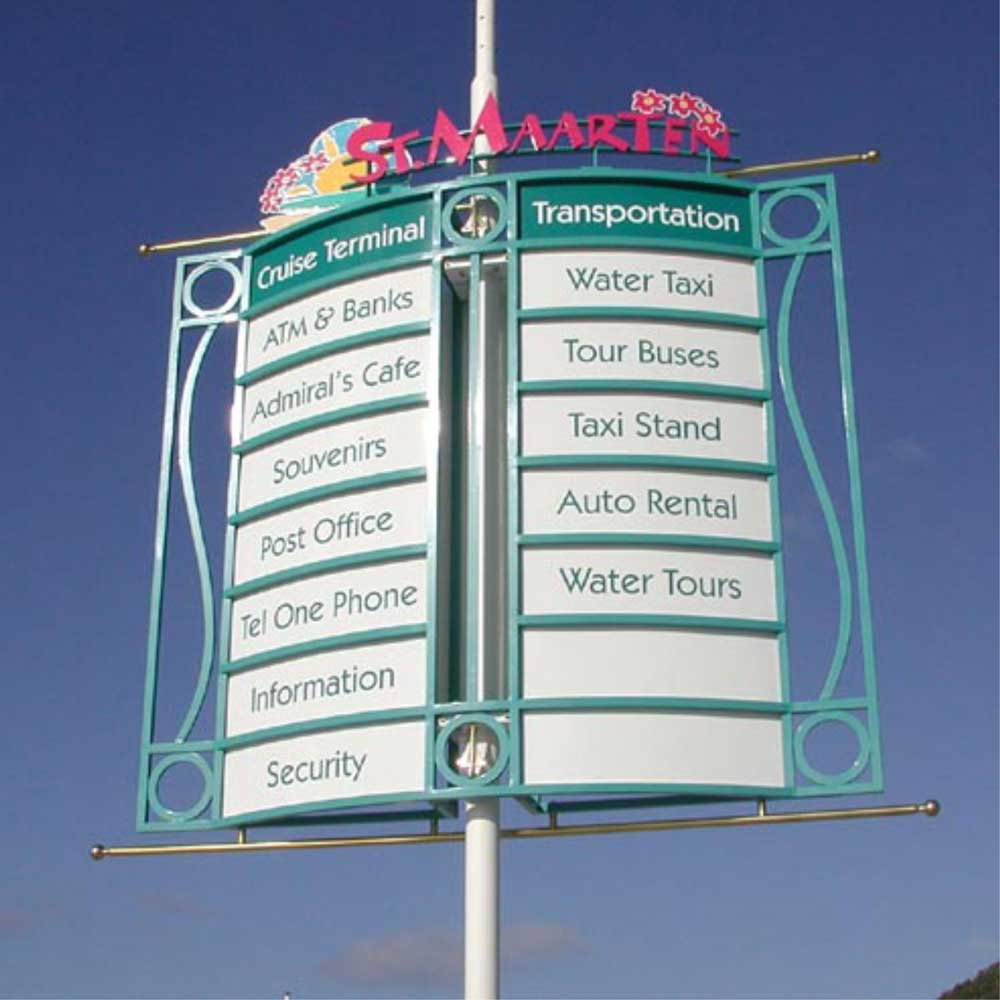 St-Maarten-4-wayfindingsign