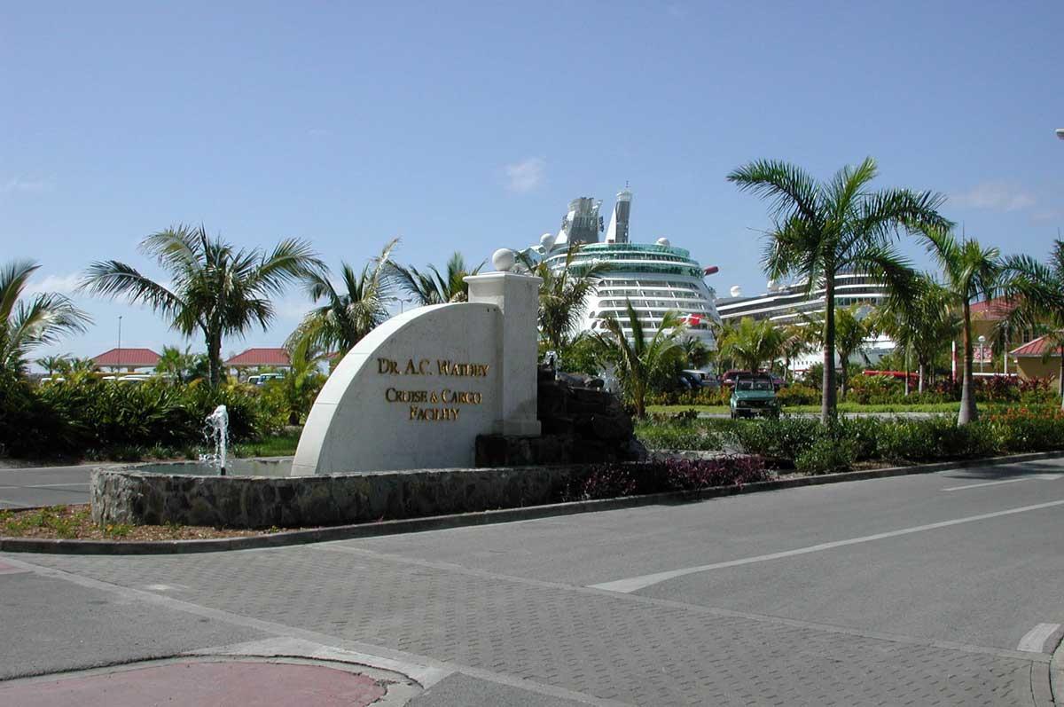 St-Maarten-Dr-Wathey-Cruise-Port